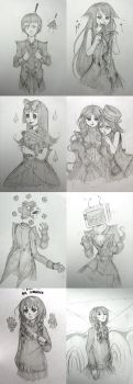 AR2015 Comm Sketches! by DrawKill