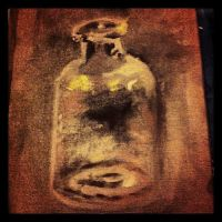 A Glass Bottle by gekkostate77