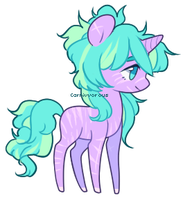 CLOSED - Striped/scarred pony by Carnivvorous