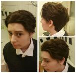 Charles Xavier X-Men First Class makeup preview! ~ by Millahwood