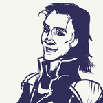 Loki-sketch by gavorche-san