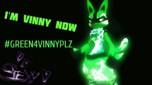 Green4Vinnyplz by DarkClaw154