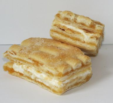 Flaky Apricot Cream Pastries by Kitteh-Pawz