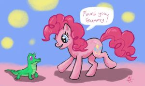 Found You Gummy by SorcerusHorserus