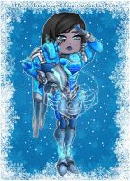 Pharah Christmas Skin by Daeshagoddess