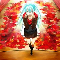 Autumn Miku 2012 by Eroji