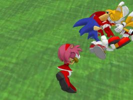 Team Sonic MMD: A Peaceful Moment Part 7 by Trouble-san