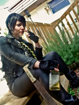 Rule 63 Punisher Cosplay II by Manic-Michi