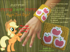 Cutie Mark Cuffs: Apple Jack Style by InkRose98