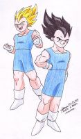Teen Vegeta Jr. 1 by hirokada