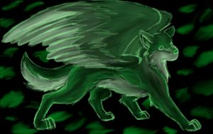 Element Wolf: Earth by Sarenea