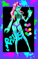 Demonic Rave Adopt {{AUCTION}}  CLOSED by Pyunenii