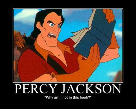 Gaston Reads Percy Jackson by otakuandproud123