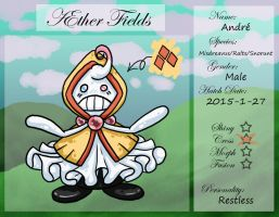 PKMNation Ref - AEther Fields - Andre by VampirateMace