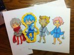 chibi collection hehe by MartiniCup