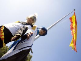 Cosplay Kaito y Len - Spain by CosplayCami