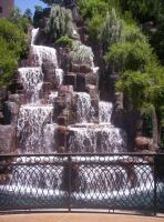 Vegas Waterfall 2 by valkyriesinger