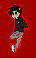 Karkat by GalaxyEyed-Fox