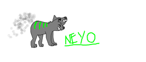 Neyo Smoke Dog by PlNECORN