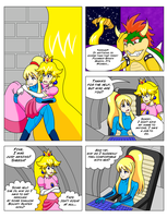 Peach's Passion Or Samus Unplugged Page 7 by MegatronMan
