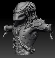 Finished Zbrush Predator by Ravanna7
