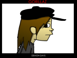 Carla or GorillazNoodle15 by FoxTail8000