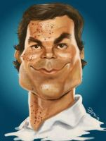 Dexter Morgan by Parpa