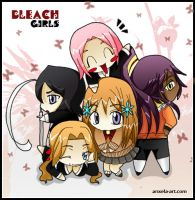 Bleach Girls by anxela-art