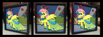 Shadowbox:  Gala Dress Fluttershy by The-Paper-Pony