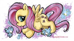 MLP:FiM - Fluttershy by KeyshaKitty