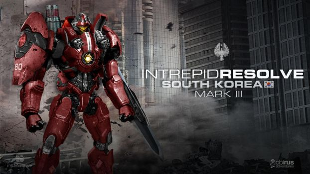 Custom FanMade Pacific Rim Jaeger Intrepid Resolve by rs2studios