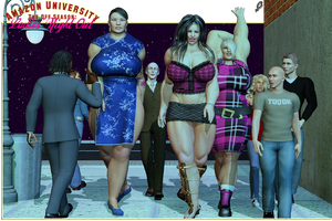 Amazon U: The Off Season Ladies' Night Out by Xen0phage