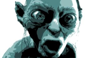 gollum by flabb