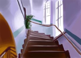 Staircase Quickpaint by Didymus03
