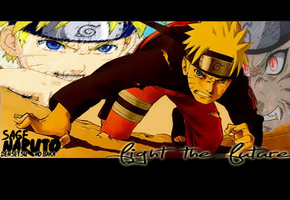 Naruto - Fight the future by Spaulding--x