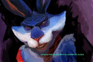 Bunny, Rise of the guardians, color test. by pururaucangel