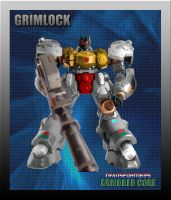 Armoured Core Grimlock by leangreen76