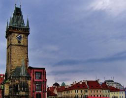 Clock Tower by ThoughtMemory
