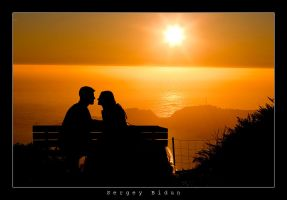 Romance in Sunset... by sergey1984