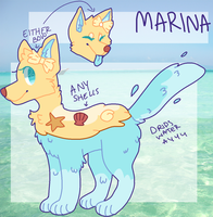Marina ref by alfeddy