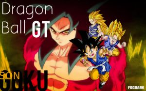 Dragon Ball GT, Son Goku. by fogdark