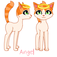 Angel Design Update by CherryBlossomShadows