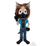 Kira The Hyena[OverdueGiftArt for SonicFazbear15] by CupidTheSparrow