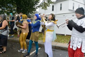 14 Honk Festival,Lots of Music In the Parking Lot4 by Miss-Tbones