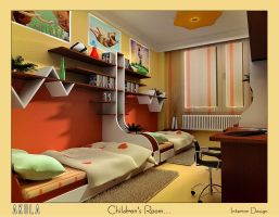 CHILDREN'S ROOM by akula13