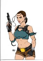 Tomb Raider By Biggmiggz by Kenkira