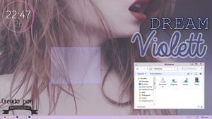 Screenshot #2 para W8 : Dream Violett by ForeverYoung320