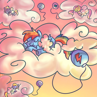 Cloudsdale Nursery by PonyGoggles