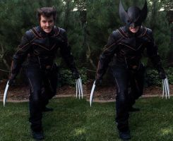 Wolverine Cosplay by Twynsunz