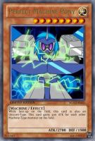 Perfect Machine Pony (MLP): Yu-Gi-Oh! Card by PopPixieRex